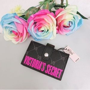 BNWT Victoria's Secret accordion card case holder